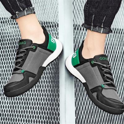 Mens Fashion Breathbale Non Slip Textile Sneakers