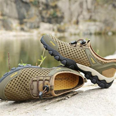 Outdoor Lightweight Breathable Climbing Lace Up Shoes