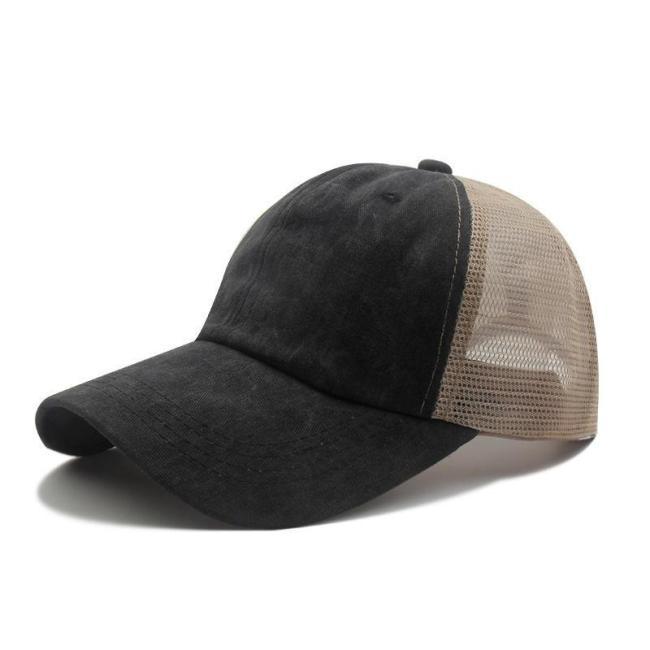 Stylish Classic Breathable Mesh Sun Hats Personality Baseball Hats