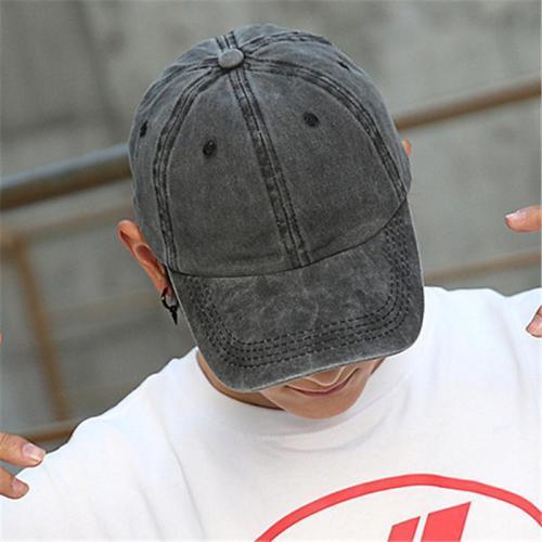 Stylish Classic Breathable Sun Hats Personality Denim Baseball Hats