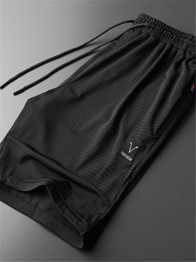 Loose Breathable Workout Summer Quick Dry Knee Shorts