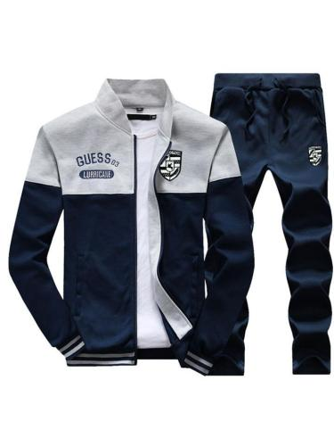 Mens Slim Fit Comfy Baseball Sports Outerwears+Pants