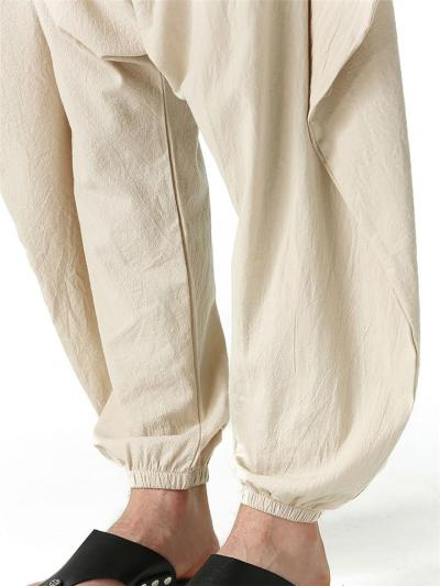 Casual Fashion Solid Color Baggy Harem Ankle Pants