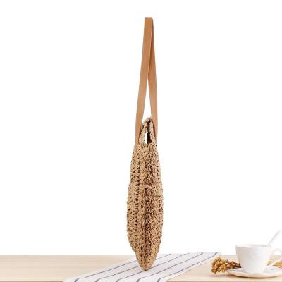 Straw Shoulder Bag Straw Clutch Women Hand-woven Crossbody Bag