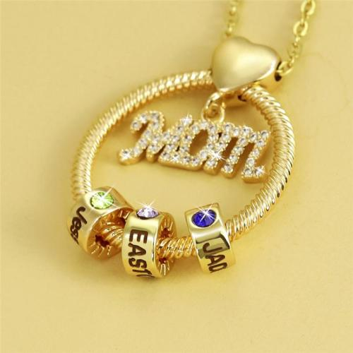 Womens Letter Pendant Choker Necklace Fashion Jewelry