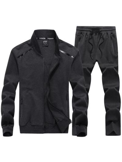 Mens Comfy Elastane Sports Outerwears+Pants