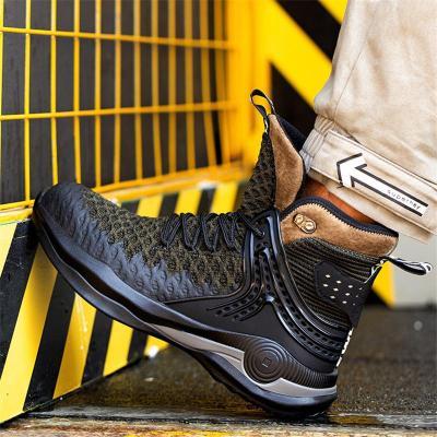 Anti-Smashing Lightweight Non Slip High Top Work Shoes For Men