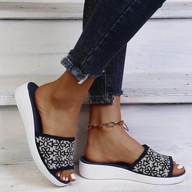 On-Trendy  FlatHeel Open Toe Sandals