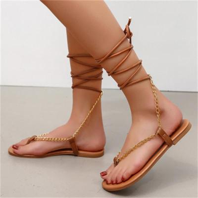 On-Trendy Flat Heel Causel Sand Sandals