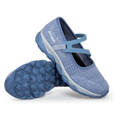 New Arrival Casual FlatHeel Breathable Soft Footbed Mesh Walking Shoes