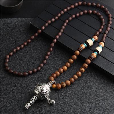 Retro Ethnic Style Long Necklace