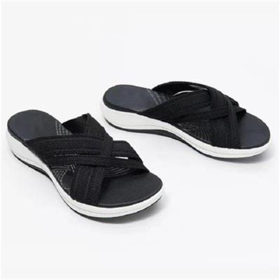 New Arrival Home Leisure Beach Slip-On Style Flat Sole Slippers