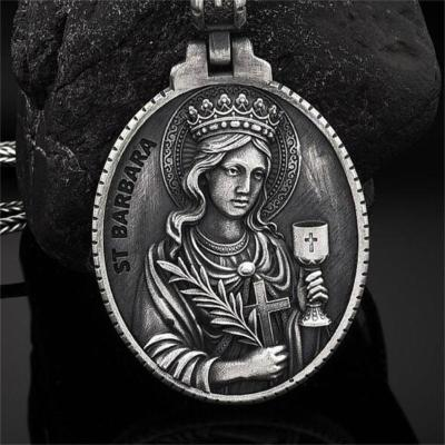New Arrival Pure Tin Christian Holy Grail Pendant Necklace