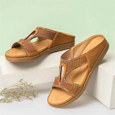 Casual Solid Color FlatHeel Open Toe Breathable Sandals