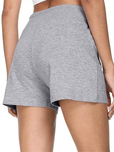 New Arrival Casual Mid-Waist Lace-Up Shorts