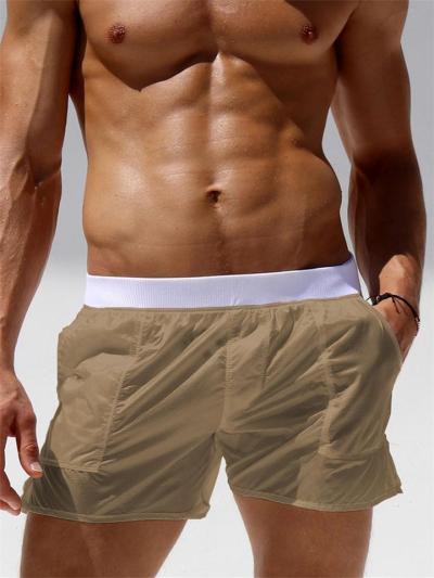 Mens Sexy Almost See-Through Transparent Beach Briefs