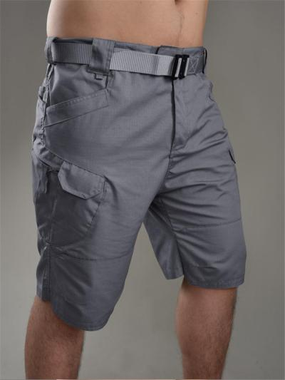 Mens Outdoor Breathable Wearable Tactical Cargo Knee Shorts