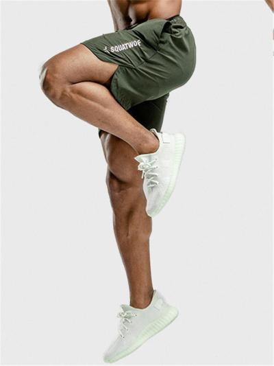 Mens Quick Dry Loose Running Sports Shorts