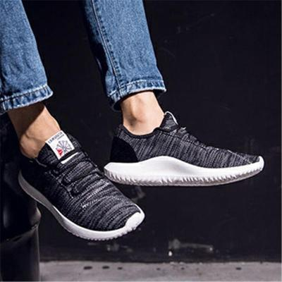 Mens Outdoor Lightweight Breathable Textile Running Shoes