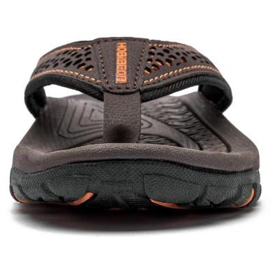 Mens Outdoor Comfy Soft Patchwork Flip Flops
