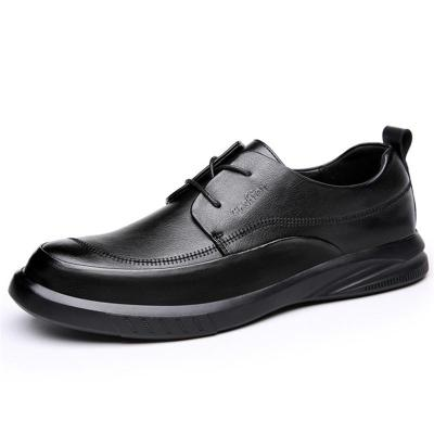 Mens Casual  Non Slip Breathable Soft Leather Shoes