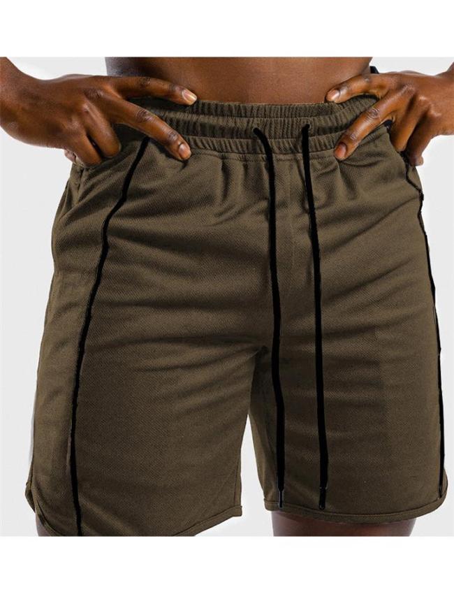 Mens Outdoor Running Training Workout Shorts
