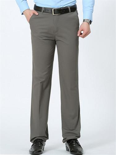 Mens Breathable Lightweight Comfy Plain Casual Pants