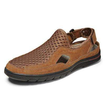 Mens Breathable Non Slip Hollow Out Outdoor Casual Sandals