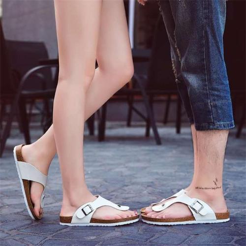 Unisex Casual Plus Size Flat Heel Flip Flops Sandals