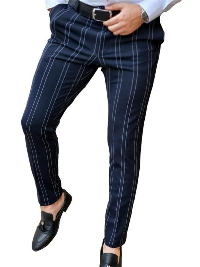 Fashion Casual Comfy Contrast Color Ankle Pants