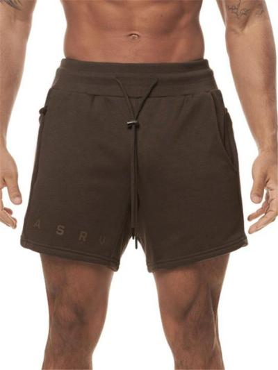 Mens Workout Print Training Casual Shorts