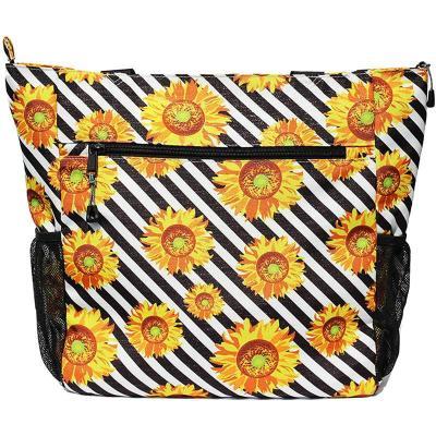 New Arrival Fashion Floral Zipper Handbag
