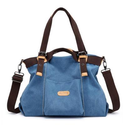 Retro Solid Color Zipper All-Match Crossbody Bag