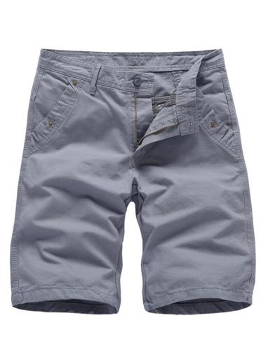 Mens Casual Cotton Sports Knee Pants