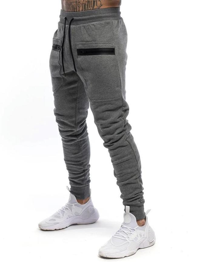 Mens Casual Fashion Slim Fit Workout Pants