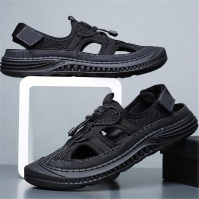 Mens Casual Breathable Soft Sole Outdoor Mesh Sandals