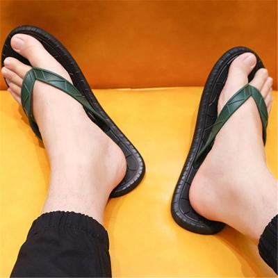 Mens Casual Breathable Personality Lightweight Beach Flip Flop