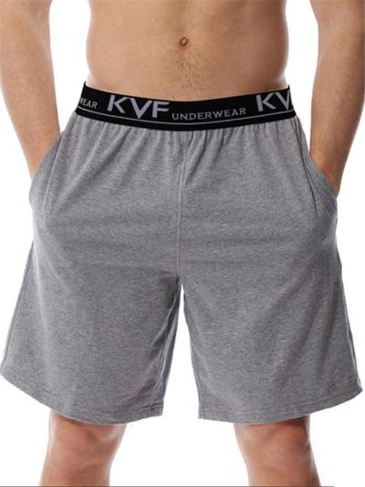 Mens Loose Beathable Beach Shorts With Exposed Bandwaist