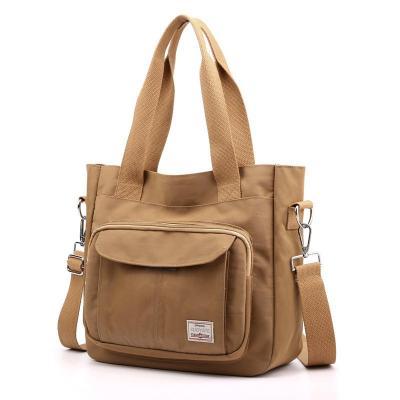 Casual Multi-Pocket Large Capacity Waterproof Lightweight Nylon Crossbody Shoulder Bag