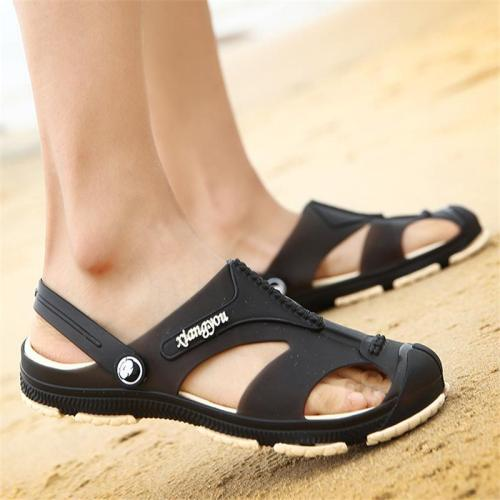 Mens Outdoor Casual Hollow Out Patchwork Sandals