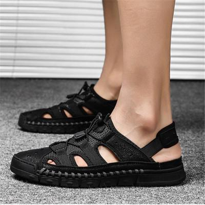 Mens Casual Non Slip Stitching Outdoor Sandals