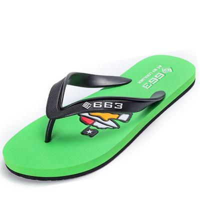 Mens Casual Non Slip Personality Lightweight Beach Flip Flop