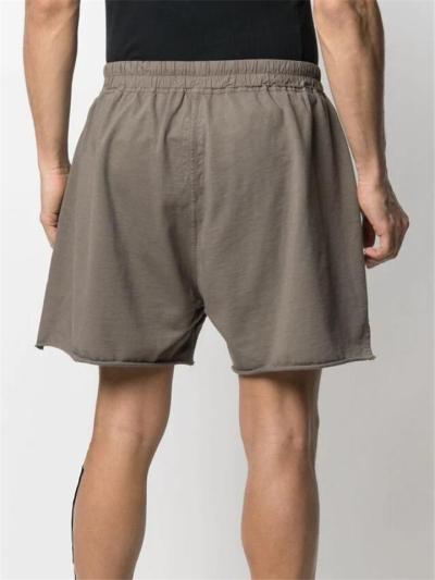 Mens Sports Fashion Loose Zipper Split Shorts