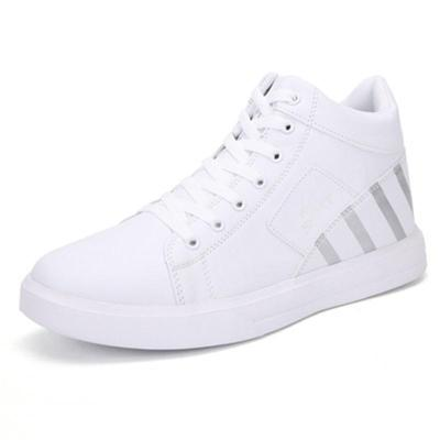 Mens Fashion Casual Patchwork Lace Up Shoes