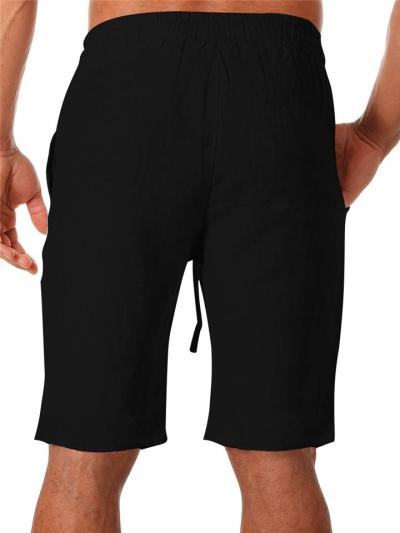 Mens Stylish Loose Straight Shorts With Pockets