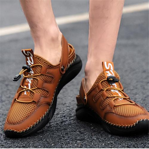 Mens Casual Breathable Stitching Outdoor Sandals