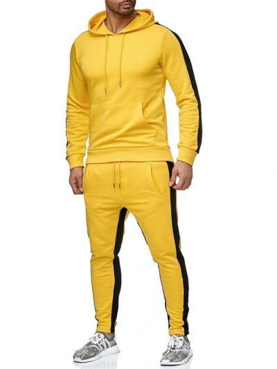 Mens Classic Fashion Sports Long Sleeve Hoodies+Pants