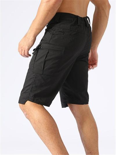 Mens Outdoor Gym Tactical Comfy Knee Shorts