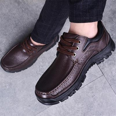 Men's Casual Breathable Business Leather Shoes