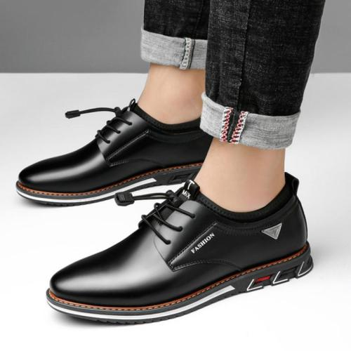 Mens Classic Breathable Fashion Casual Sports Leather Shoes